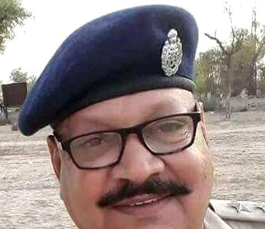 DSP VEDPRAKASH SHARMA SARDARSHAHAR CHURU RAJASTHAN INDIA