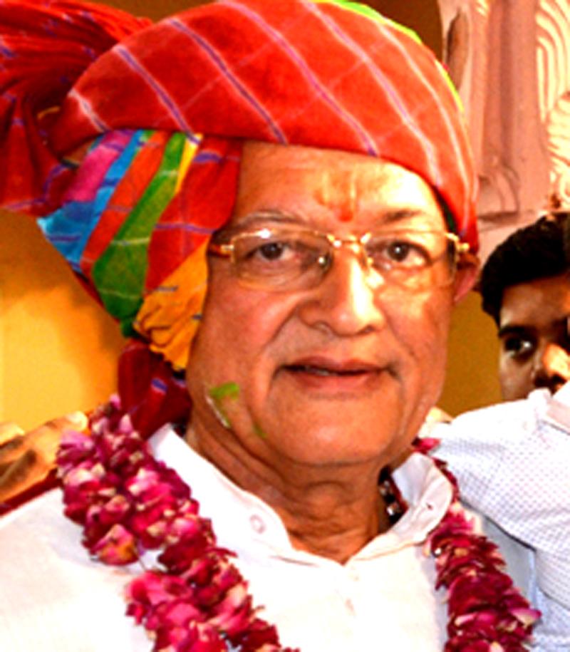 बीकानेर पश्चिम के नव नियुक्त विधायक डॉ.. बुलाकीदास कल्ला।